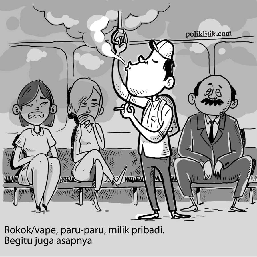 Rokok dan Asap Milik Pribadi