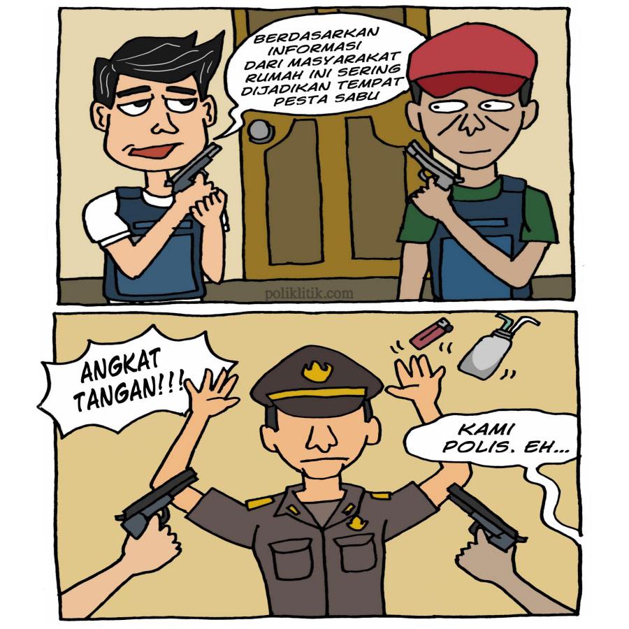 Polisi Ambil Kendali