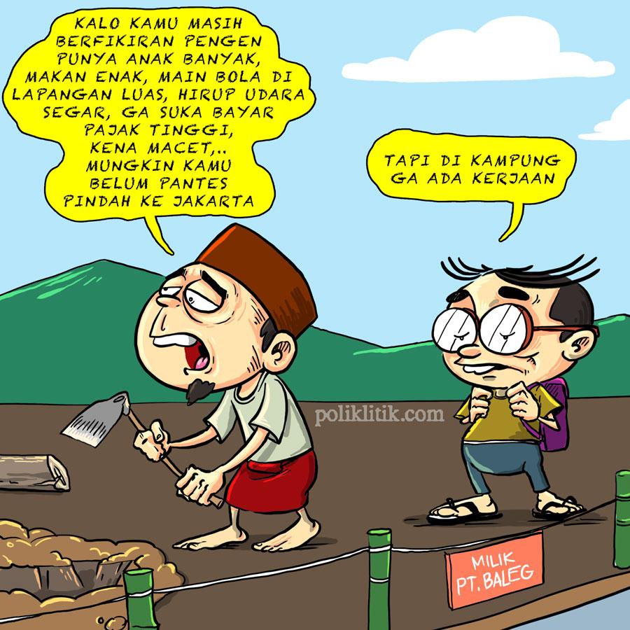 Mental Urbanisasi dan Tantangan Jakarta