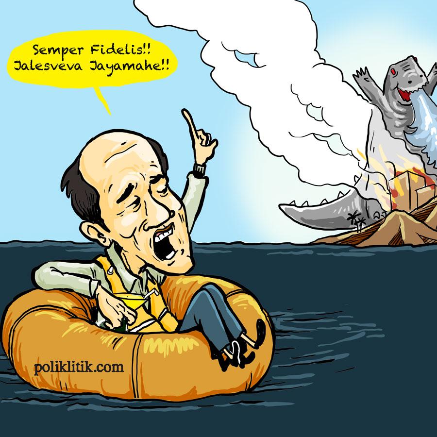 Semper Fi, Jalesveva Jayamahe