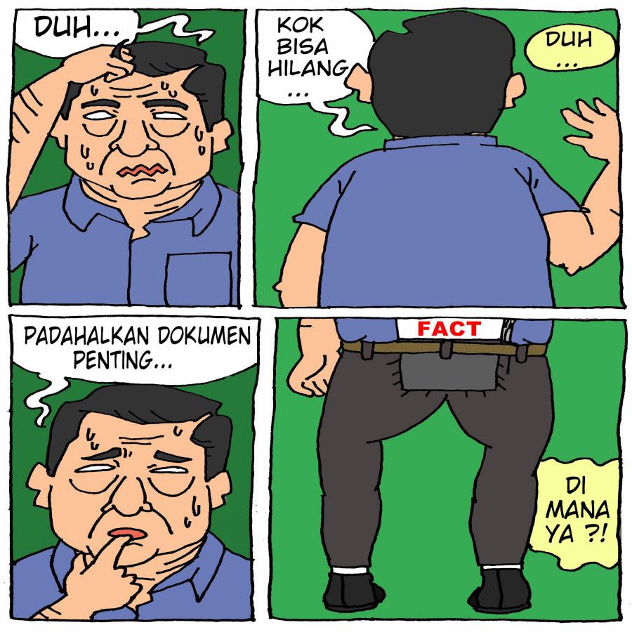 Hilangnya Hasil Investigasi TPF Munir