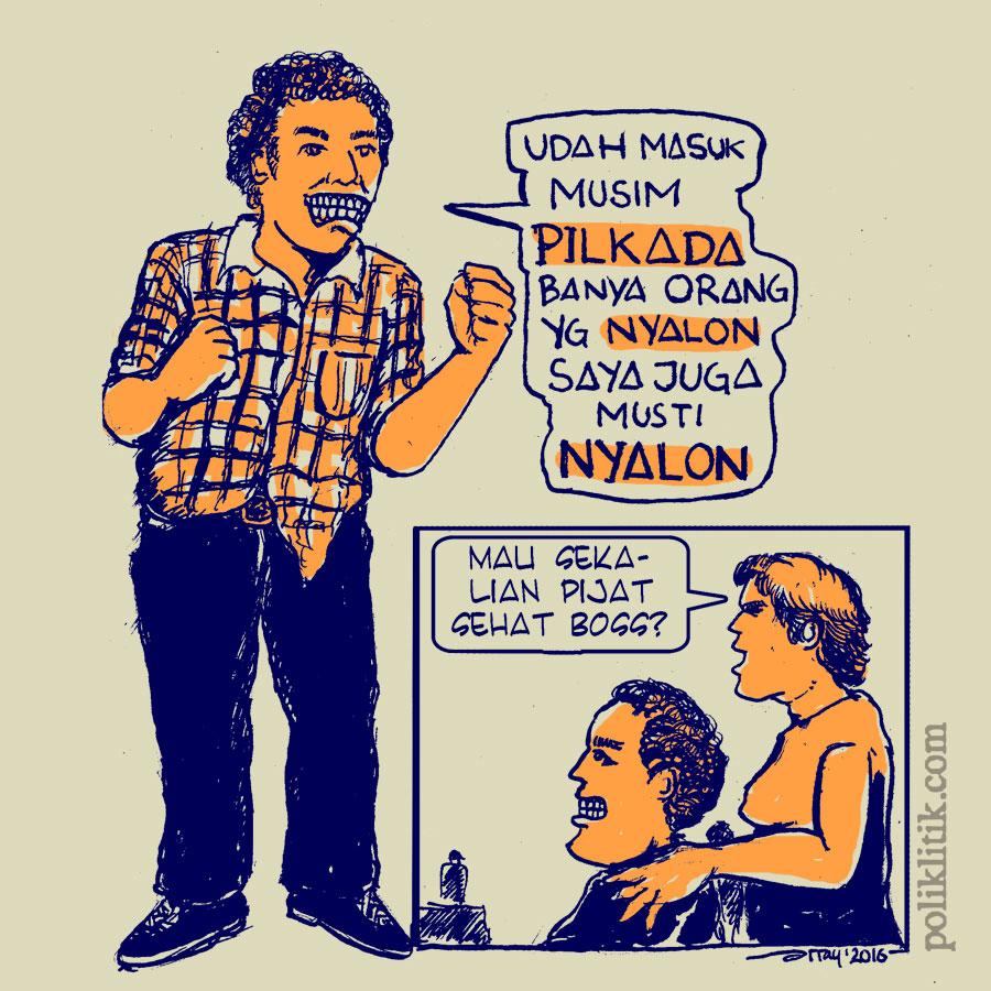 Nyalon, Cyin..