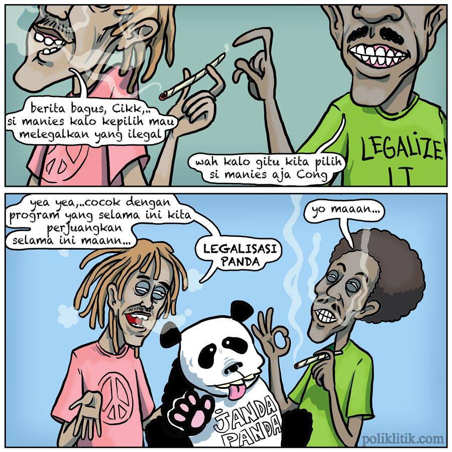 Legalkan Yang Ilegal