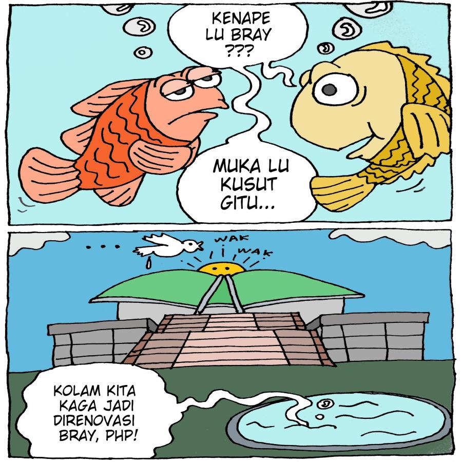 Rehab Kolam Ikan