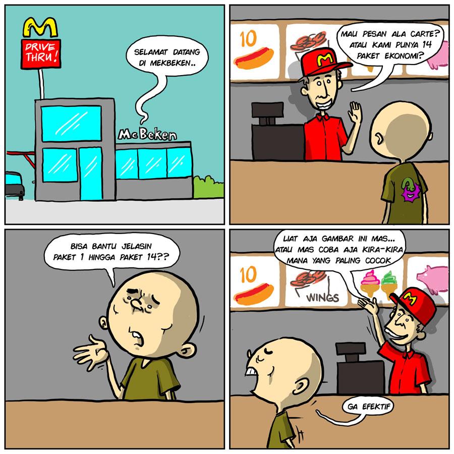 Paket Kurang Sosialisasi
