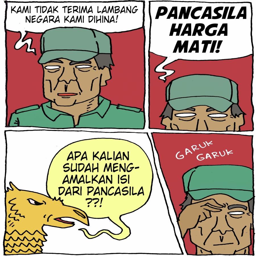 Pancasila, Indonesia dan Australia