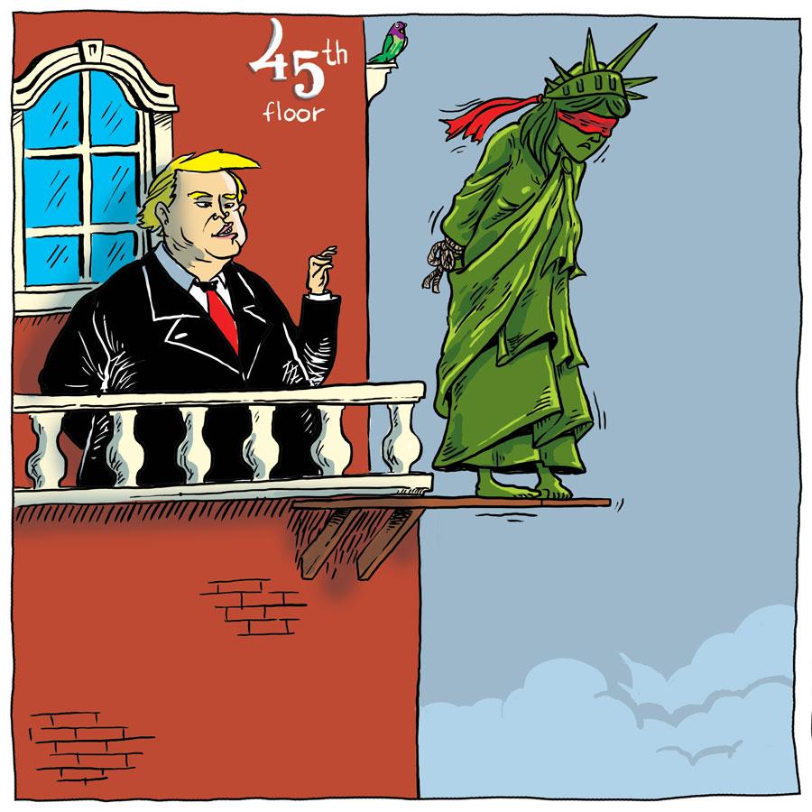 Donald Trump dan Akhir Dedikasi Liberty
