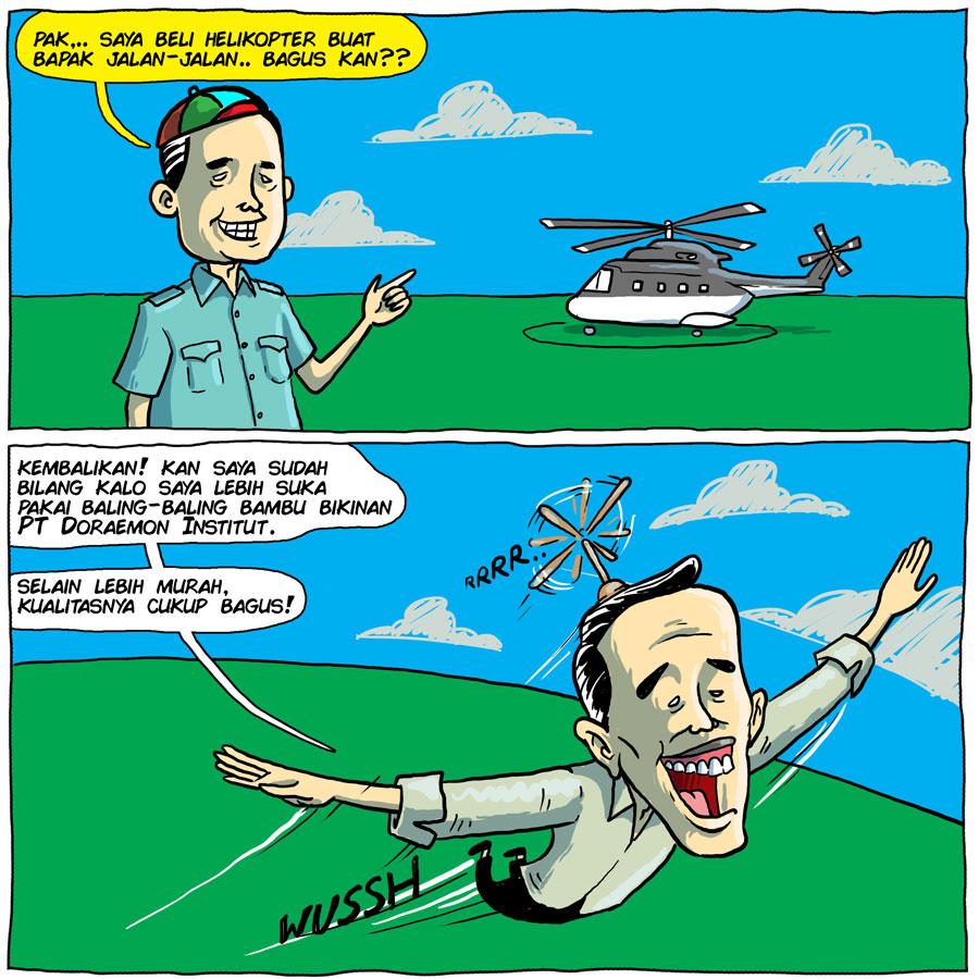 Polemik Helikopter