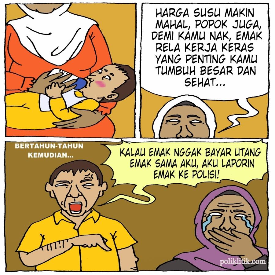 Nasib Ibu Ditagih Hutang Oleh Anak