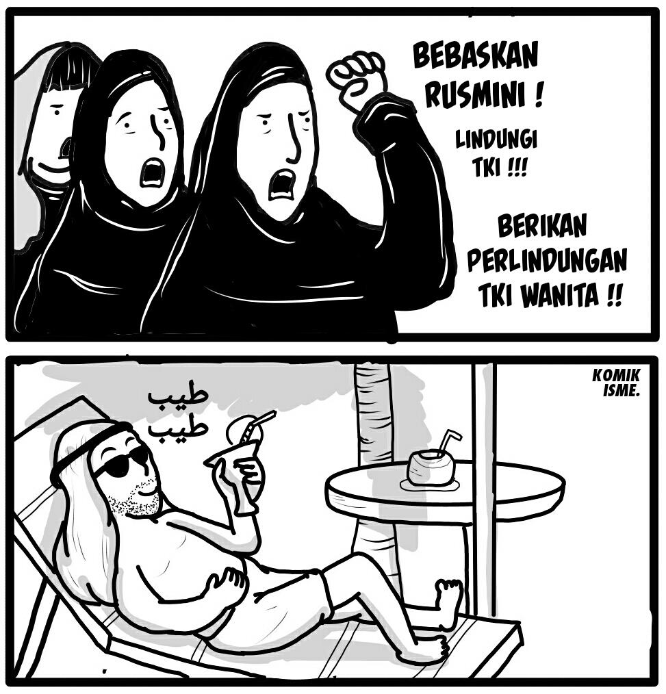 Nasib TKI di Arab Saudi