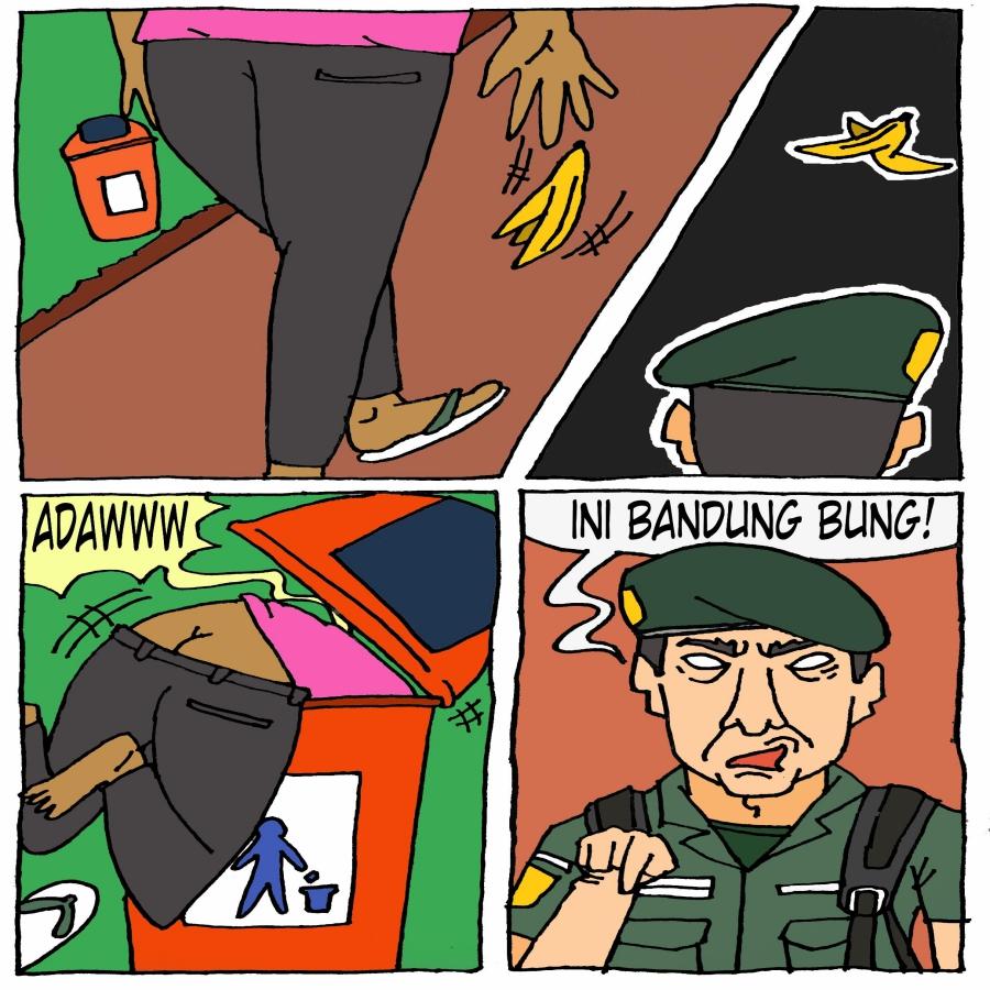 Dilarang Buang Sampah Di Bandung