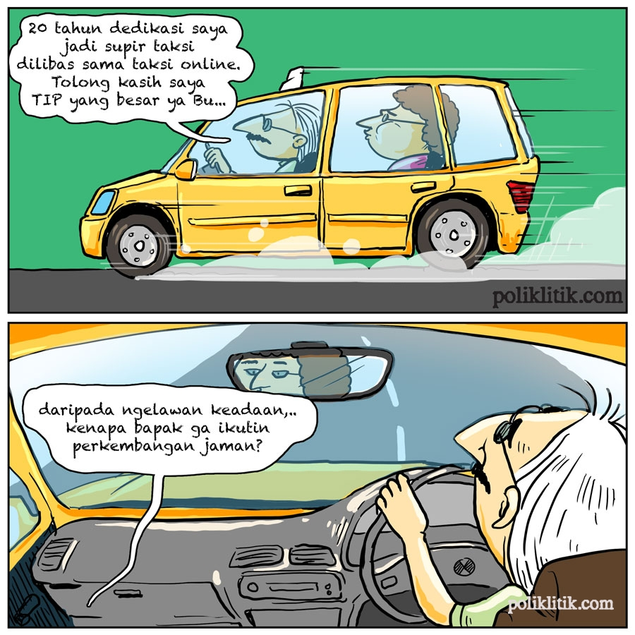 Penyesuaian Tarif Taksi Online