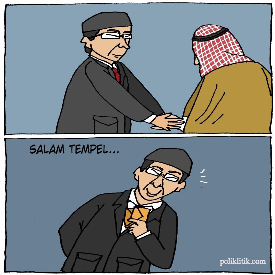 Salaman Ahok-Raja Salman