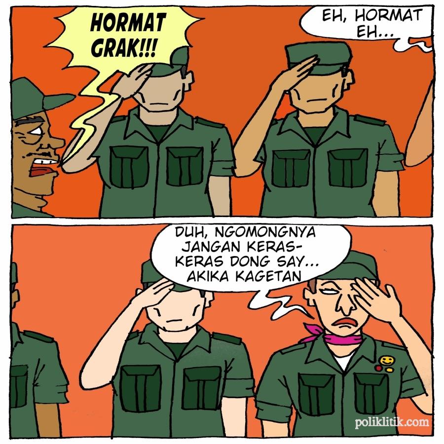 Transjender Ikut Wajib Militer