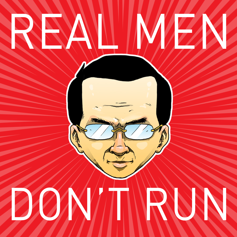 Real Men Don't Run