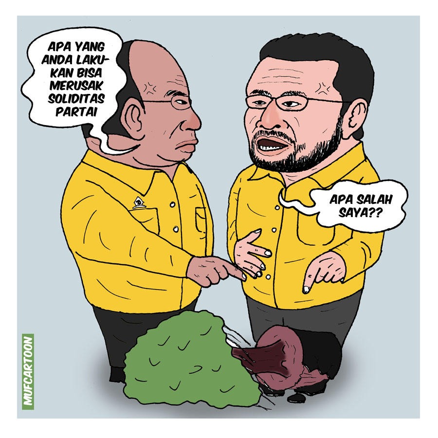 Yorrys Raweyai dan Freddy Latumahina