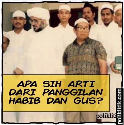 Apa Sih Perbedaan Habib dan Gus?