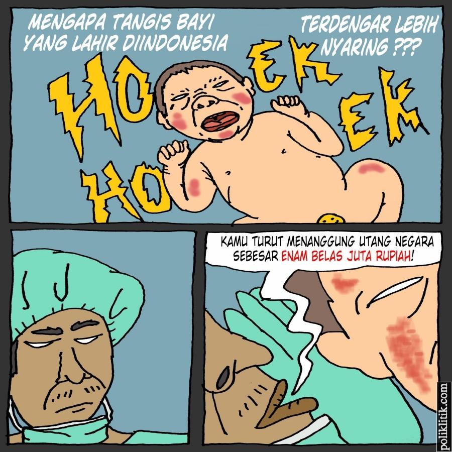 Beban Utang Setiap Orang Indonesia Rp16 Juta