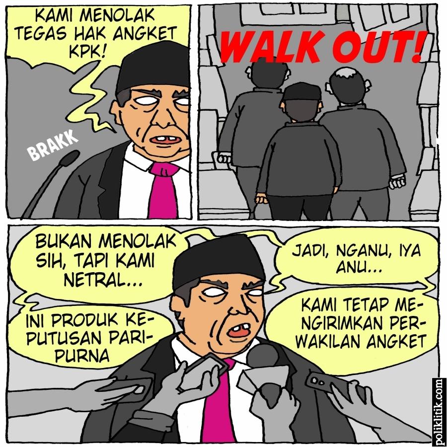 Fraksi di DPR Mulai Berbalik Arah Dukung Hak Angket KPK