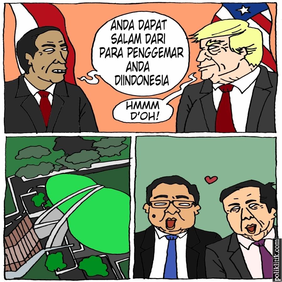 Jokowi Bertemu Donald Trump di Sela KTT G20