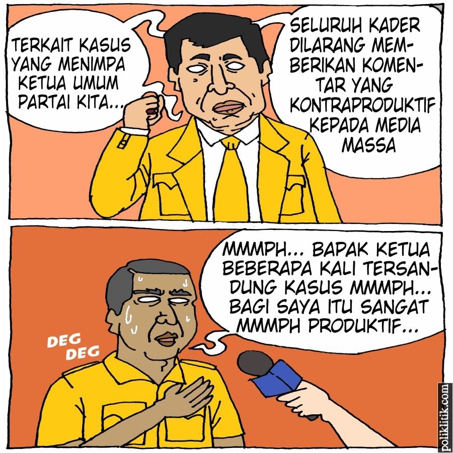 Kasus Setya Novanto, Partai Golkar Larang Kader Bicara Kontraproduktif