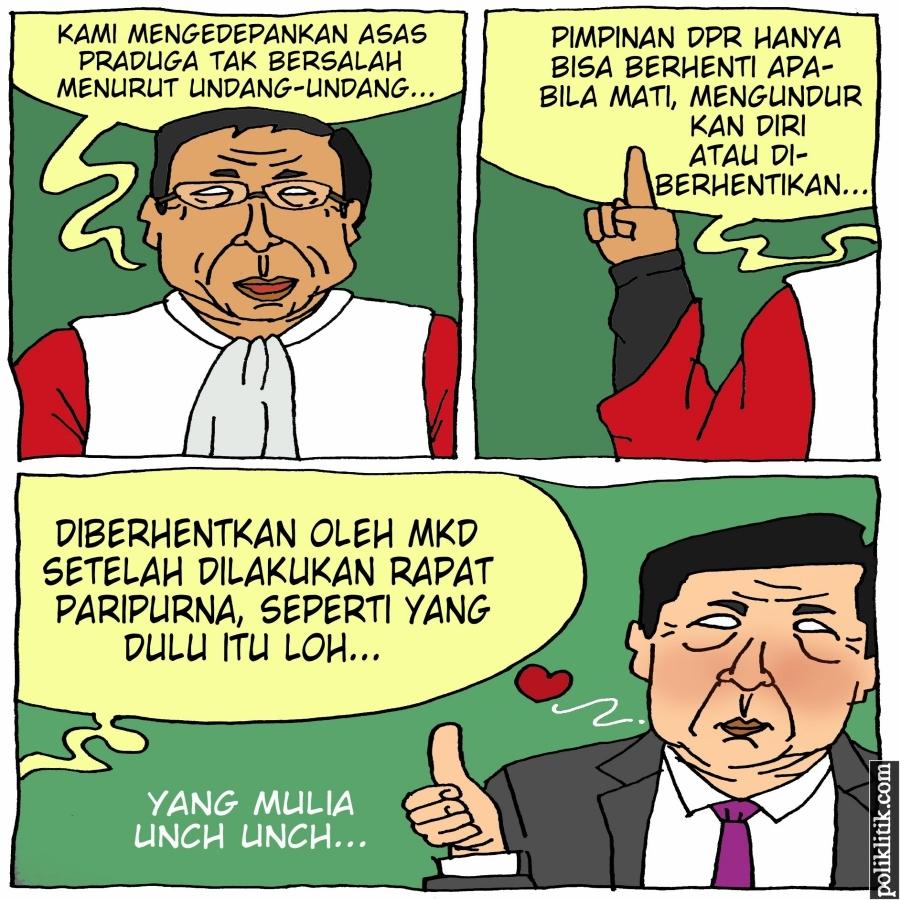 MKD Akan Temui KPK Sebelum Putuskan Status Setya Novanto