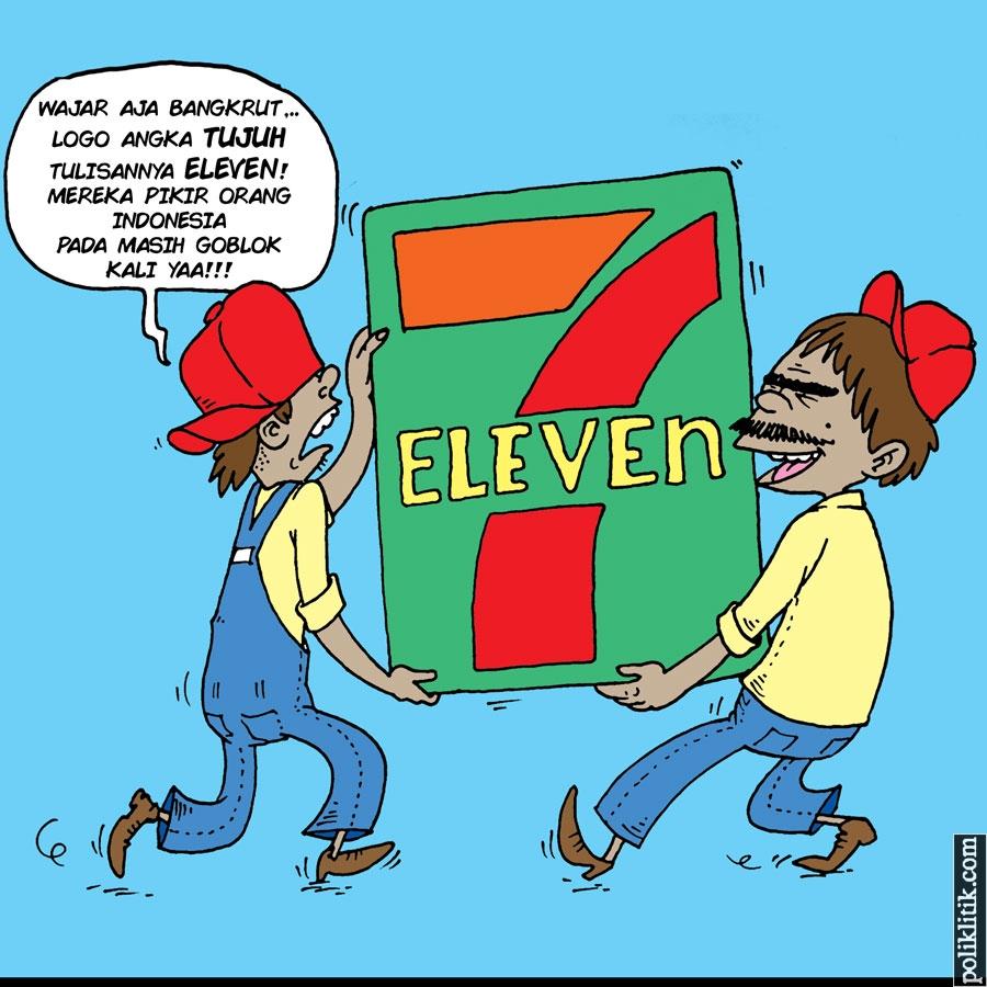 Tumbangnya Bisnis 7-Eleven di Indonesia