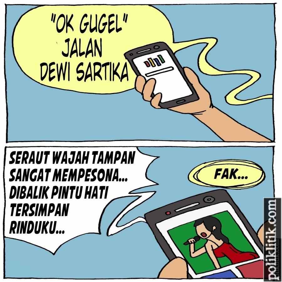 Jalan Dewi Persik di Bekasi Bikin Heboh