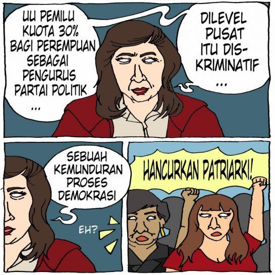 Ketentuan UU Pemilu Tentang Kuota 30 Persen Bagi Perempuan