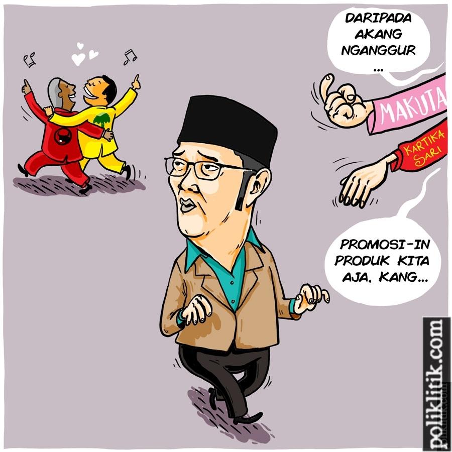 Koalisi PDIP dan Golkar, Tutup Pintu Untuk Ridwan Kamli di Pilkada Jabar 2018