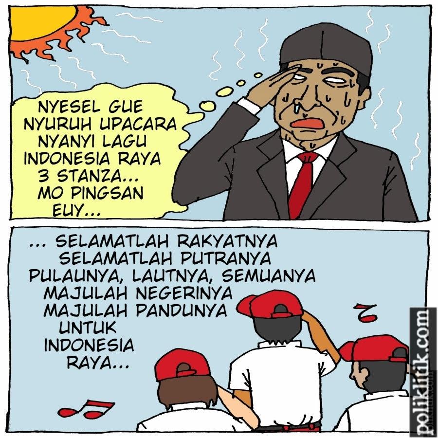 "Mendikbud Akan Buat Surat Edaran, Lagu ""Indonesia Raya"" Dinyanyikan 3 Stanza"