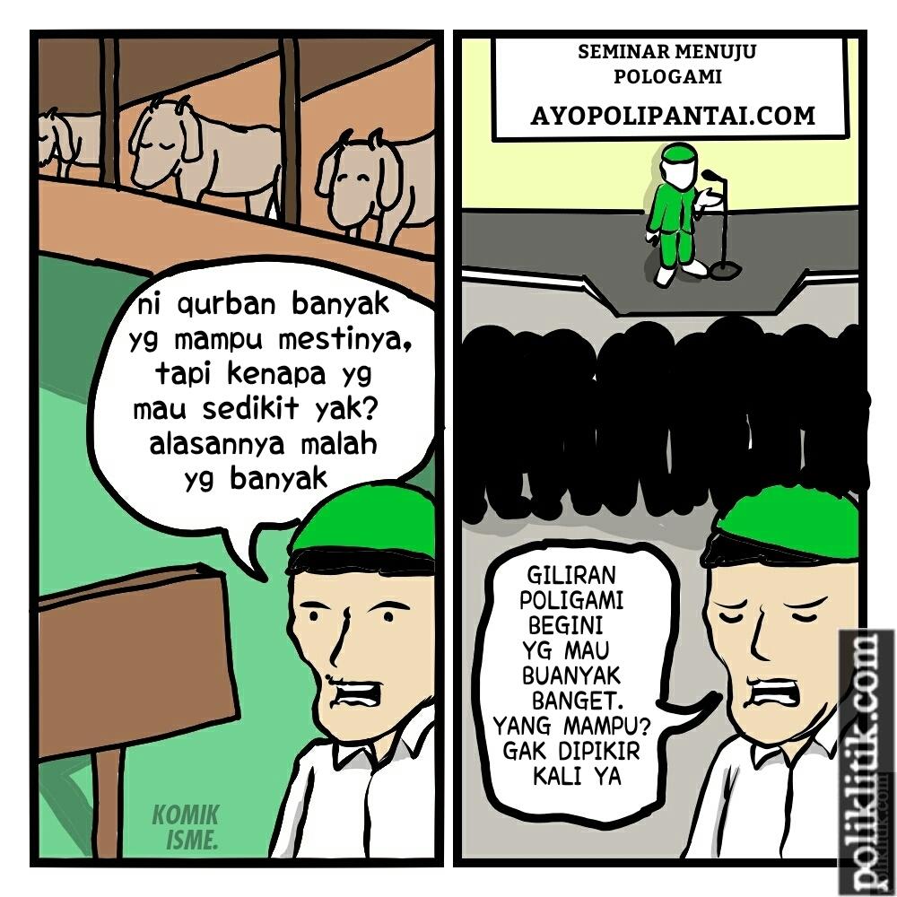 Perbedaan Antara Qurban dan Poligami