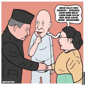 Pertemuan SBY dan Megawati