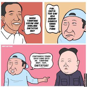 Presiden Jokowi Dianggap Diktator