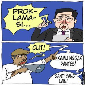 Setya Novanto Dianggap Tak Layak Bacakan Teks Proklamasi di Istana