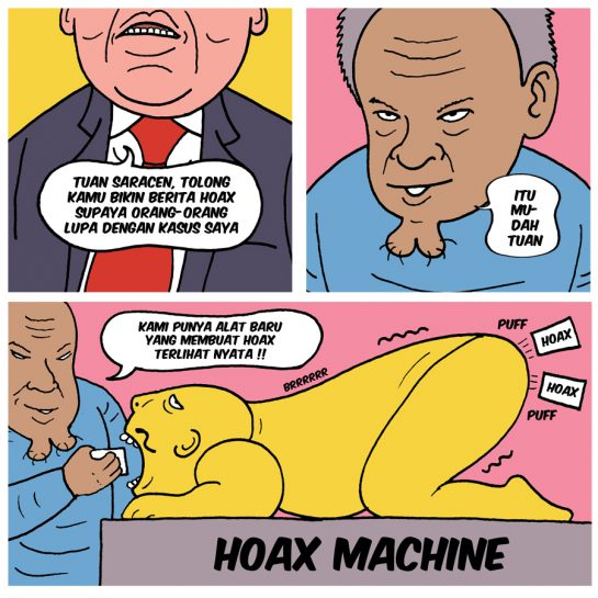 Sindikat Pembuat Hoax Punya 800 Ribu Akun