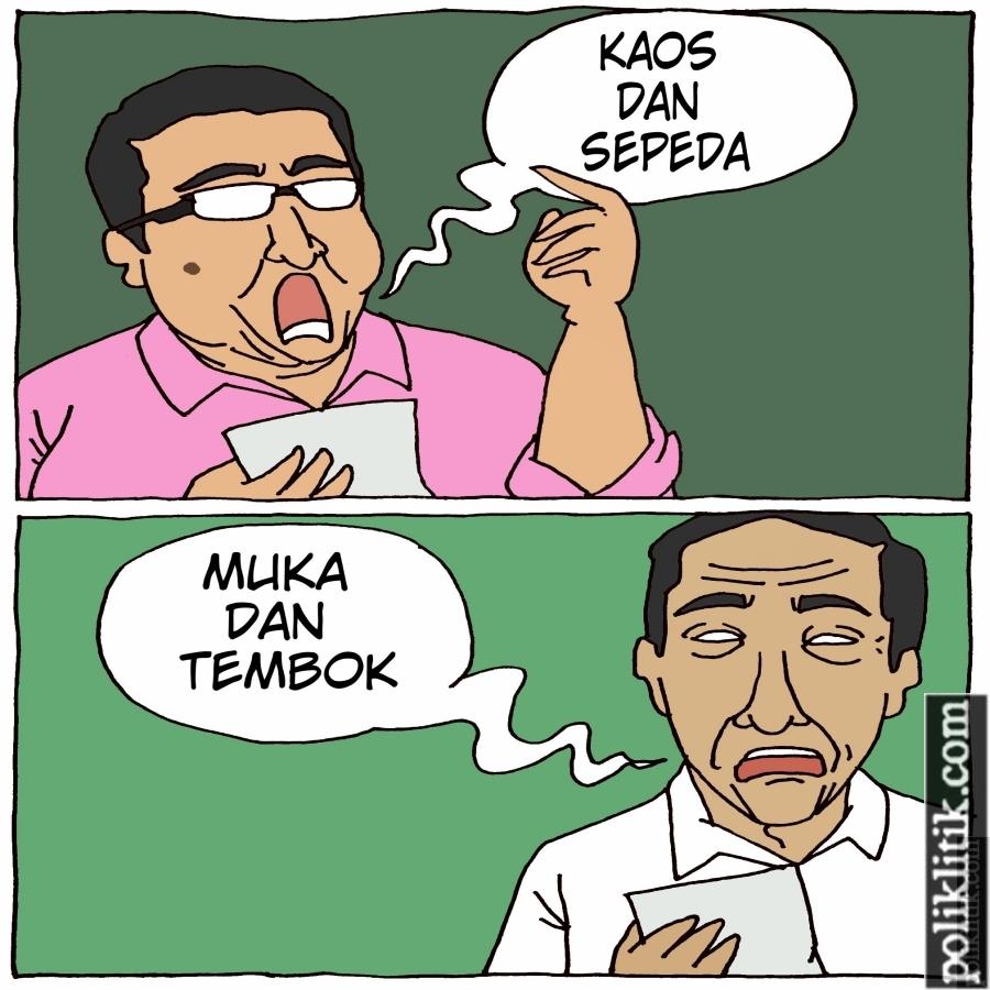 "Fadli Zon Bikin Puisi ""Kaos dan Sepeda"""