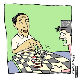 Jokowi Jaga KPK, Kita Harus Lawan Korupsi