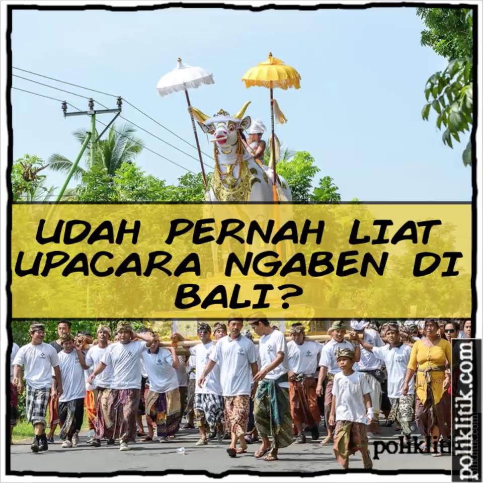 Ngaben Di Bali