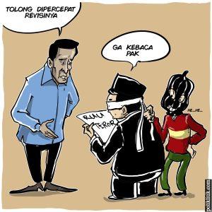 Wiranto Mendesak DPR Segera Menyelesaikan Revisi Undang-Undang Terorisme
