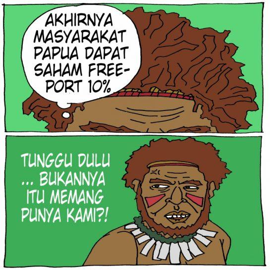 Masyarakat Papua dapat 10 Persen Saham Freeport