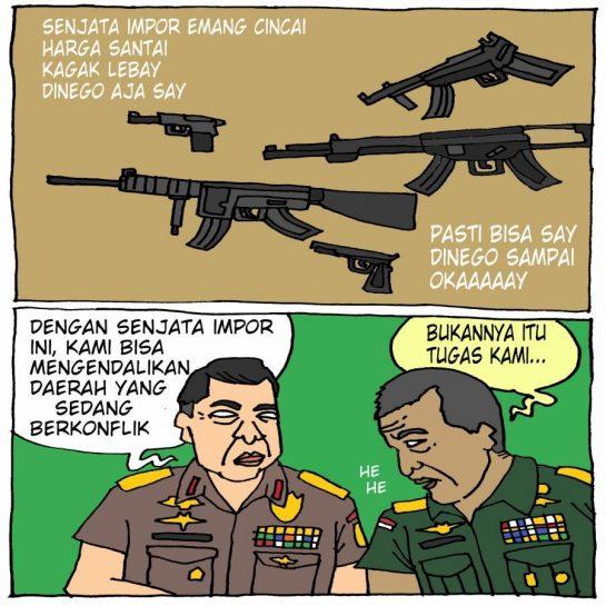 Polemik Impor Senjata oleh Polri