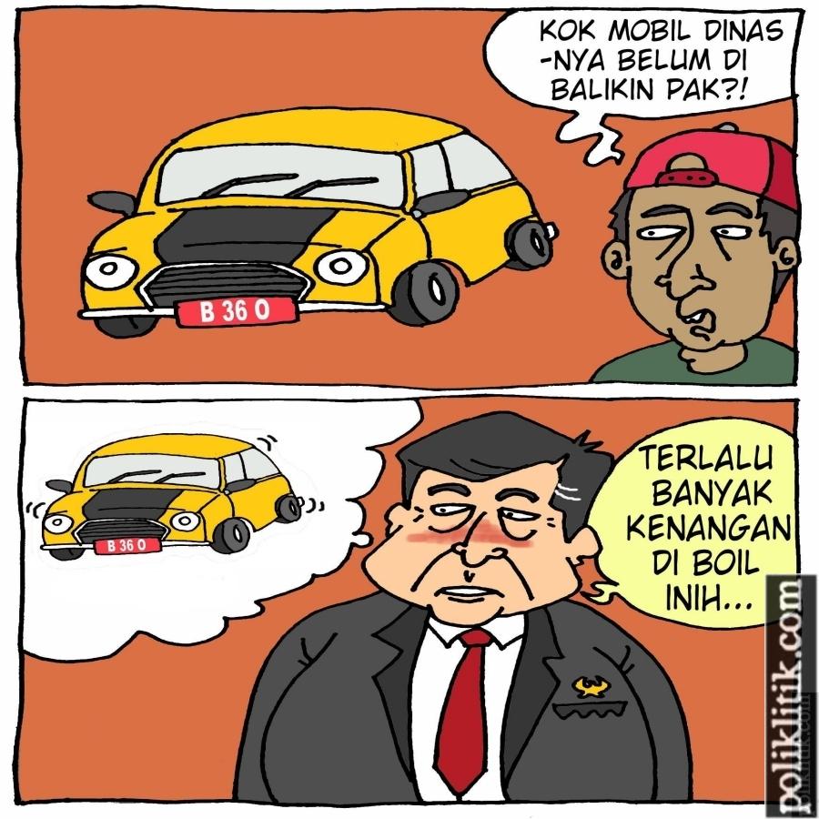 90 Mobil Dinas Anggota DPRD DKI Belum Dikembalikan