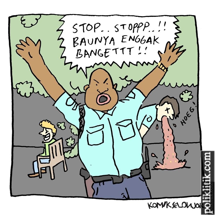 Tersangka kentut, polisi Kansas City hentikan interogasi