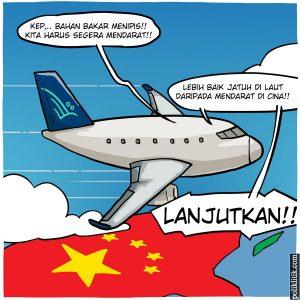 Viral Video Rasis Pilot Garuda