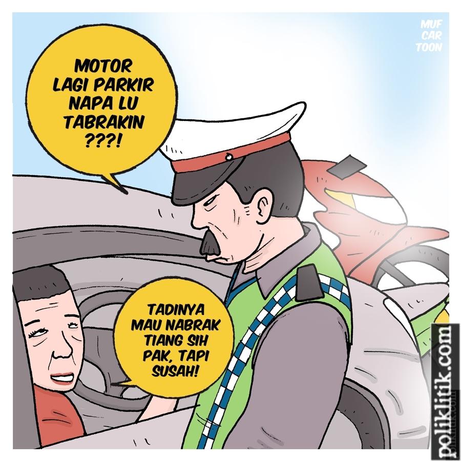 Serudukan Honda CRV