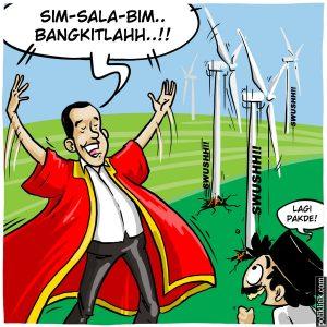 Sim-Sala-Bim! Indonesia Semakin Adil