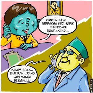 Golkar menarik dukungan pada Ridwan Kamil untuk Jabar Satu