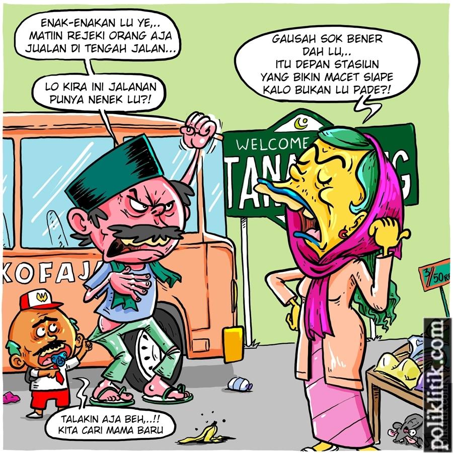 Penutupan Jalanan di Tanah Abang Untuk PKL Oleh Anies