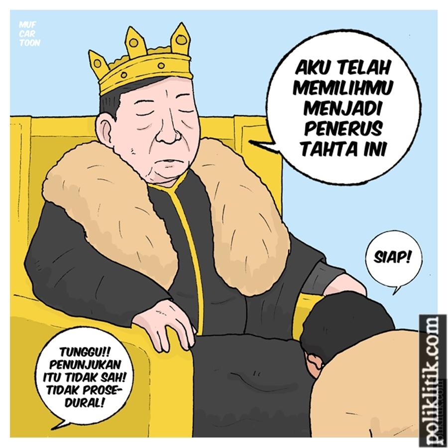Penunjukan Pengganti Setnov Oleh Setnov
